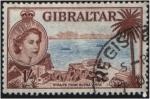 Stamps Gibraltar -  El Estrecho desde Buena Vista
