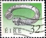 Stamps Ireland -  Intercambio 0,75 usd 32 p. 1990
