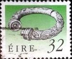 Stamps of the world : Ireland :  Intercambio 0,75 usd 32 p. 1990