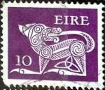 Sellos del Mundo : Europa : Irlanda : Intercambio 0,20 usd 10 p. 1977