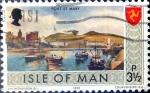 Stamps : Europe : Isle_of_Man :  Intercambio crxf 0,20 usd 3,5 p. 1973