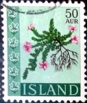 Sellos de Europa - Islandia -  Intercambio crxf 0,25 usd 50 a. 1968