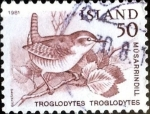 Stamps : Europe : Iceland :  Intercambio crxf 0,20 usd 50 a. 1981