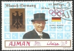 Sellos de Asia - Emiratos Árabes Unidos -  Juegos Olímpicos de Múnich 1972