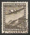 Sellos de America - Chile -  Andes