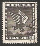 Stamps Chile -  Condor