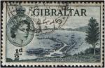 Sellos del Mundo : Europa : Gibraltar :  Muelles de carga y pasajeros