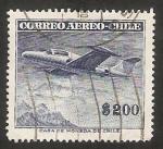 Sellos de America - Chile -  Northrop Scorpion