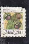 Sellos del Mundo : Asia : Malasia : manggis