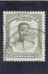Sellos de Asia - Filipinas -  general Antonio Luna