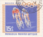 Stamps Mongolia -  Olimpiada México-68
