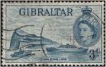 Sellos de Europa - Gibraltar -  Transatlántico