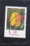 Stamps Germany -  flores-tulipan