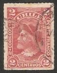 Stamps Chile -  Cristóbal Colón