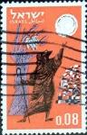 Stamps : Asia : Israel :  Intercambio 0,20 usd 8 a. 1963