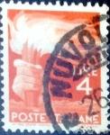 Sellos del Mundo : Europa : Italia : Intercambio 0,20 usd 4 l. 1946