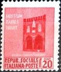 Sellos del Mundo : Europa : Italia : Intercambio 0,20 usd 20 cent. 1944
