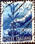 Sellos de Europa - Italia -  Intercambio 0,20 usd 15 l. 1946
