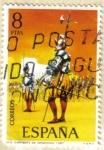 Stamps Europe - Spain -  UNIFORMES - Sargento de Infanteria 1567