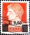 Sellos de Europa - Italia -  Intercambio 0,20 usd 2,50 s. 1,75 l. 1945