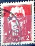 Sellos de Europa - Italia -  Intercambio 0,20 usd 2 l. 1945