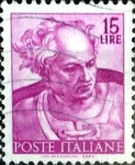 Stamps : Europe : Italy :  Intercambio 0,20 usd 15 l. 1961