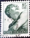 Sellos de Europa - Italia -  Intercambio 0,20 usd 85 l. 1961