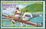 Stamps Equatorial Guinea -  Juegos Olímpicos de Múnich 1972-regatas