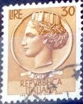 Sellos de Europa - Italia -  Intercambio 0,20 usd 30 l. 1960