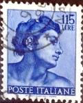 Sellos de Europa - Italia -  Intercambio 0,20 usd 115 l. 1961