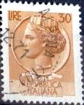 Sellos de Europa - Italia -  Intercambio 0,20 usd 30 l. 1968