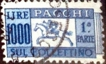 Stamps : Europe : Italy :  Intercambio crf 0,50 usd 1000 l. 1957
