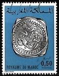 Stamps : Africa : Morocco :  Marruecos-cambio