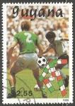 Stamps : America : French_Guiana :  Copa Mundial de Fútbol de 1990-Germany - Argentina