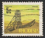 Stamps : Africa : Zimbabwe :  Rhodesia - Minas