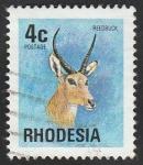 Stamps : Africa : Zimbabwe :  Rhodesia - Redunca arundinum
