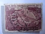 Sellos de America - Venezuela -  Hotel Tamanaco-Caracas.