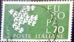 Sellos del Mundo : Europa : Italia : Intercambio jcs 0,25 usd 70 l. 1961