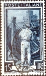 Sellos de Europa - Italia -  Intercambio 0,20 usd 15 l. 1950