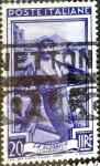 Sellos de Europa - Italia -  Intercambio 0,20 usd 20 l. 1950