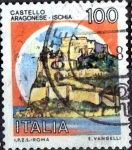 Stamps Italy -  Intercambio 0,20 usd 100  l. 1980