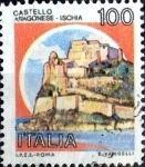 Stamps Italy -  Intercambio 0,20 usd 100  l. 1980