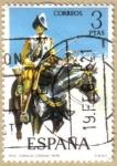 Sellos del Mundo : Europa : España : UNIFORMES - Coracero de Caballeria 1635