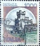 Sellos de Europa - Italia -  Intercambio 0,20 usd 1000  l. 1980