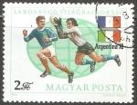 Stamps Hungary -  Copa Mundial de Fútbol de 1978