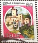 Sellos de Europa - Italia -  Intercambio 0,20 usd 80 l. 1981