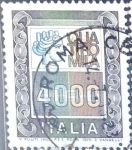 Stamps Italy -  Intercambio 0,20 usd 4000 l. 1979