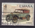 Stamps Spain -  automoviles antiguos españoles