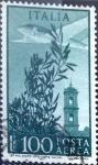 Sellos de Europa - Italia -  Intercambio m2b 0,20 usd 100 l. 1948