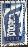 Stamps : Europe : Italy :  Intercambio jcs 0,60 usd 60 l. 1956